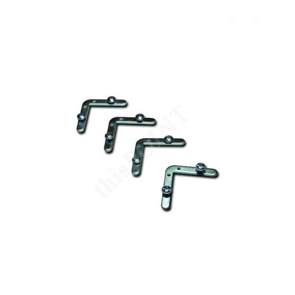 25 mm. Alüminyum Çerçeve, Gönye köşe, 70x100 cm. (B1)