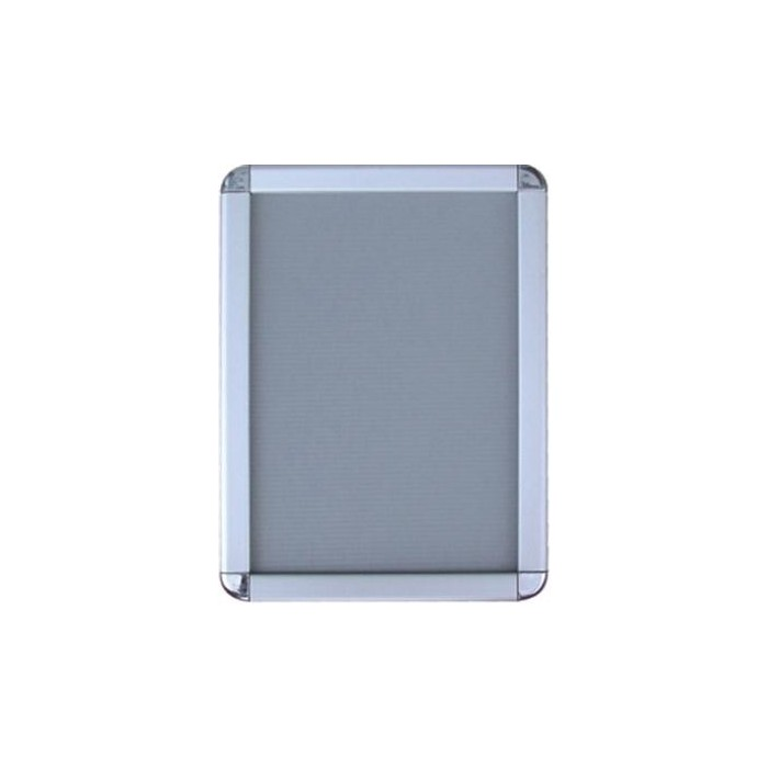 32 mm. Alüminyum Çerçeve, Rondo köşe, 85x120 cm. (A0)