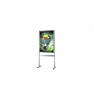 Işıklı Poster Pano, Çift Taraflı (70x100cm.)