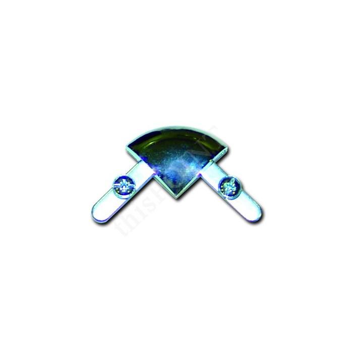 25 mm. Alüminyum Çerçeve, Rondo köşe, 70x100 cm. (B1)